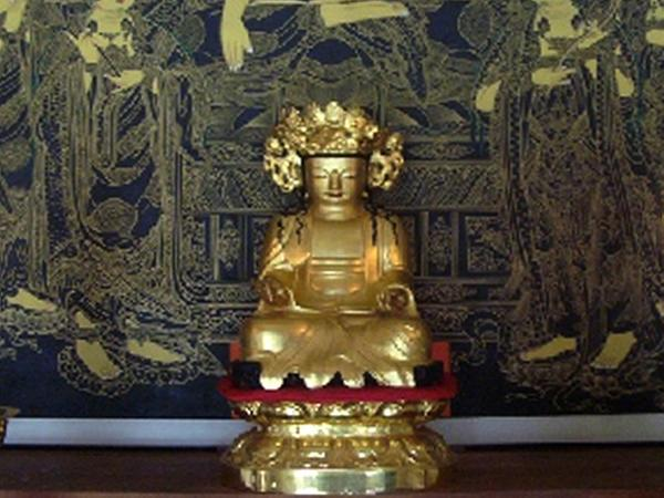 함양 도솔암 목조관음보살좌상(咸陽 兜率庵 木造觀音菩薩坐像)