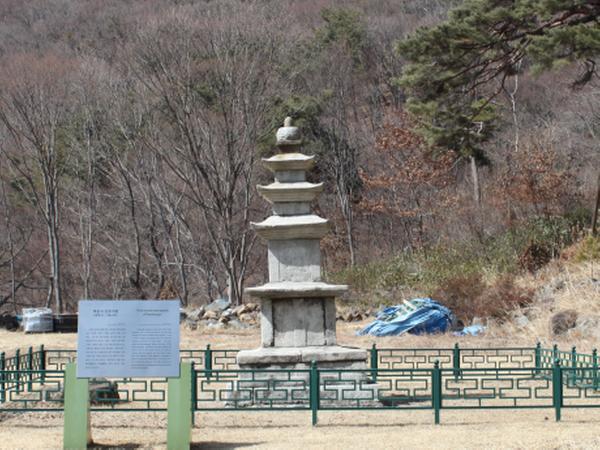 벽송사 삼층 석탑