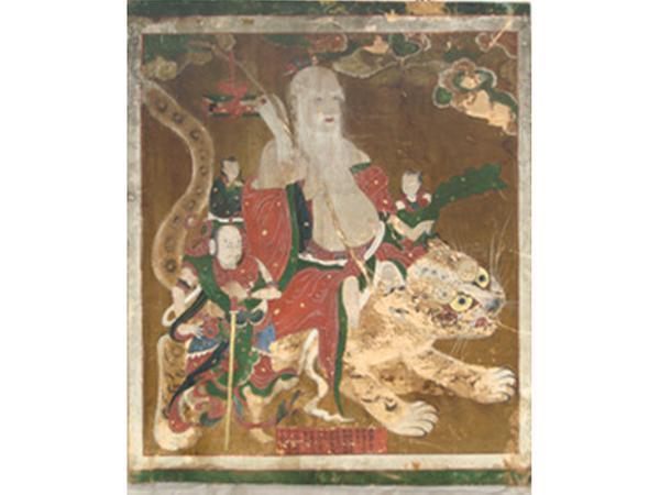 함양영각사산신탱(咸陽 靈覺寺 山神幀)